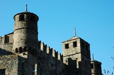Free Medieval Castle Stock Photo - 3586930