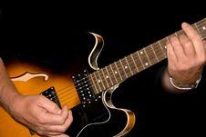 Free Guitarist Royalty Free Stock Photo - 3587245