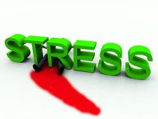 Free Stress Is Murder 3 Royalty Free Stock Image - 3587256