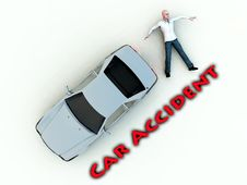 Free Car Accident 12 Royalty Free Stock Photography - 3587337