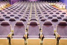 Free Empty Cinema Auditorium Stock Photos - 3587733