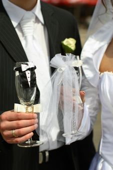 Free Married Clang Glasses Together Stock Photo - 3588540