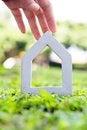 Free Hand Holding Icon House Stock Image - 35800911