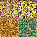 Free Multi Colored Unusual Contours Royalty Free Stock Photo - 35805315