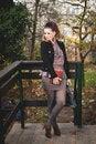 Free Beautiful Brunette Woman, Female Student Fashion Royalty Free Stock Image - 35808416