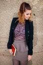 Free Beautiful Brunette Woman, Female Student Fashion Royalty Free Stock Photo - 35808735