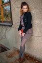 Free Beautiful Brunette Woman, Female Student Fashion Stock Image - 35808871