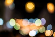 Free Bokeh Of Light Background. Royalty Free Stock Images - 35802269