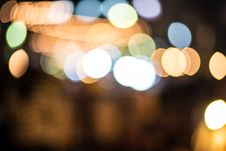 Free Bokeh Of Light Background. Stock Photography - 35802322