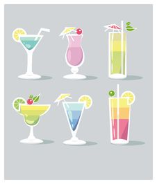 Free Cocktails Royalty Free Stock Images - 35802699