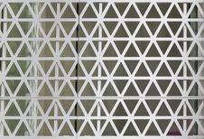 Free Hexagons Steel Facade Stock Images - 35804354