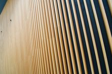 Free Wooden Fin Of Modern Building Royalty Free Stock Images - 35804379