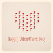 Free Valentines Day Card Stock Photo - 35807200