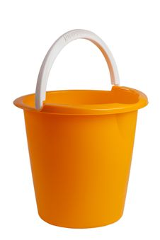 Free Plastic Bucket. Stock Photography - 35808582
