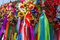 Free Wreath Of Flowers And Ribbons, National Cloths Of Ukraine Stock Photography - 35809492