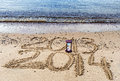 Free New Year Is Coming , Red Sea, Eilat Royalty Free Stock Image - 35810376