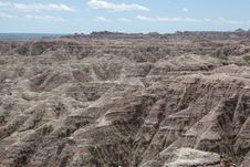 Free The Badlands Stock Photography - 35813522