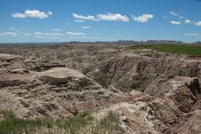 The Badlands Royalty Free Stock Photo