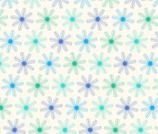 Free Flower Seamless Background Royalty Free Stock Image - 35814096