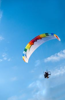 Paragliding Stock Photos