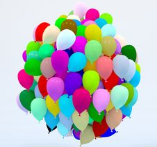 Free Balloons Royalty Free Stock Image - 35814476
