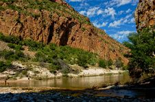 Free River Gorge In South Africa Royalty Free Stock Photo - 35815075