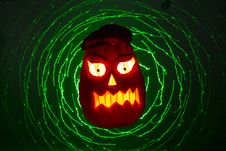 Free Halloween Pumpkin Royalty Free Stock Photography - 35816687
