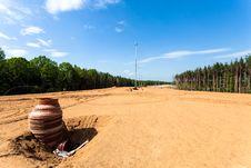 Rainwater Drainage Royalty Free Stock Photo