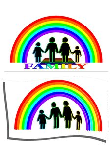 Free Traditional Family (Vector) Stock Images - 35820414