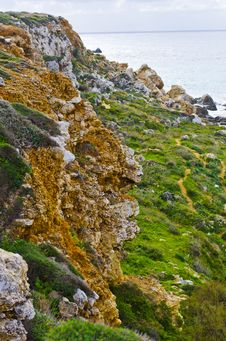 Free Cliffs - Maltese Landscape Royalty Free Stock Photo - 35824705