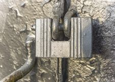 Free Old Padlock Royalty Free Stock Photography - 35825987