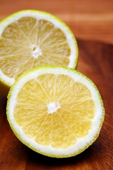 Lemons Closeup Royalty Free Stock Photography