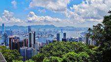 Free Victoria Peak Royalty Free Stock Photography - 35829147