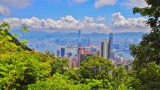 Victoria Peak Stock Photo