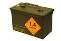 Free Ammo Box Royalty Free Stock Photo - 35844555