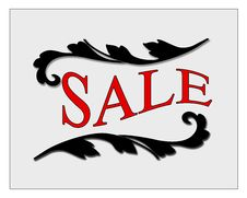 Free Sale Sign Royalty Free Stock Photography - 35841777