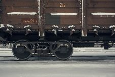 Free Train Wagon In Winter Stock Photos - 35847263