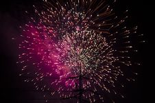 Free Fire Work Stock Photography - 35849052