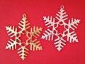 Free Pair Ornament Snowflake Stock Image - 35853921