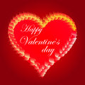 Free Valentines Day Beautiful Background With Ornaments And Heart. Stock Images - 35857834