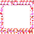 Free Valentines Day Beautiful Background With Ornaments And Heart. Royalty Free Stock Photo - 35857865