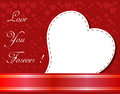 Free Valentines Day Beautiful Background With Ornaments And Heart. Royalty Free Stock Photos - 35857868