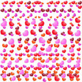 Free Valentines Day Beautiful Background With Ornaments And Heart. Royalty Free Stock Photography - 35857877