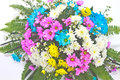 Free Beautiful Bouquet Of Bright Flowers Royalty Free Stock Images - 35858039