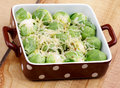 Free Brussels Sprouts Casserole Royalty Free Stock Photography - 35859987