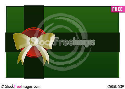 Free Green Present Royalty Free Stock Images - 35850539