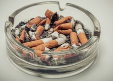 Free Cigarette Butts Stock Photography - 35851252
