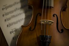 Free Time To Practice Violin Stock Image - 35853041