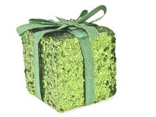 Free Green Glitter Box Stock Photo - 35853610