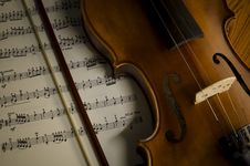 Free Time To Practice Violin Stock Photos - 35853673